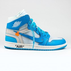 NIKE X OFF-WHITE AIR JORDAN 1 UNC UNIVERSITY BLUE